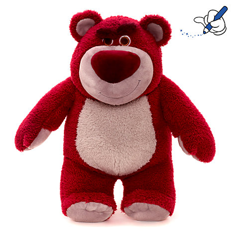 peluche lotso de taille moyenne. Black Bedroom Furniture Sets. Home Design Ideas