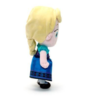 Elsa från Frost som liten, liten gosedocka