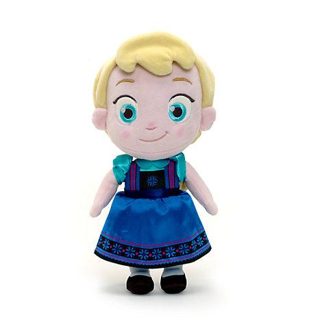 Peluche piccolo Elsa da bimba di Frozen - Il Regno di Ghiaccio