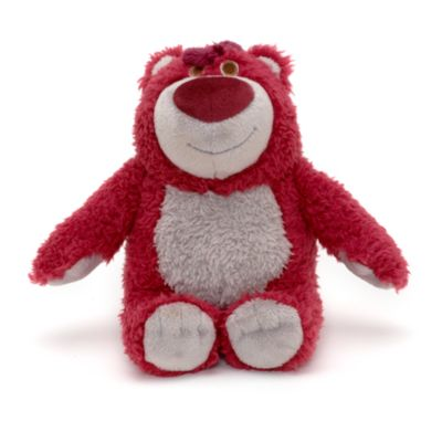 Lille Teddy Krammebjørn beanbag med jordbærduft