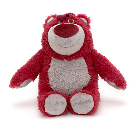 Den kramgoa teddybjörnen Teddy litet gosedjur med jordgubbsdoft