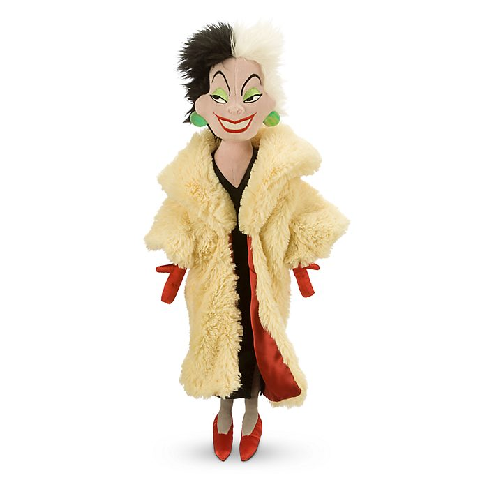 Cruella De Vil Soft Toy Doll