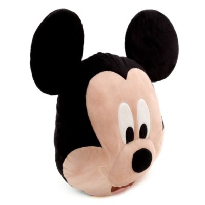 Mickey Mouse-pude med stort ansigt