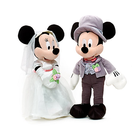 Minnie And Mickey Wedding Cake Toppers Uk