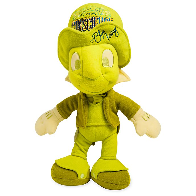 Disney Store Peluche Jiminy Cricket, collection Disney Wisdom, 7 sur 12