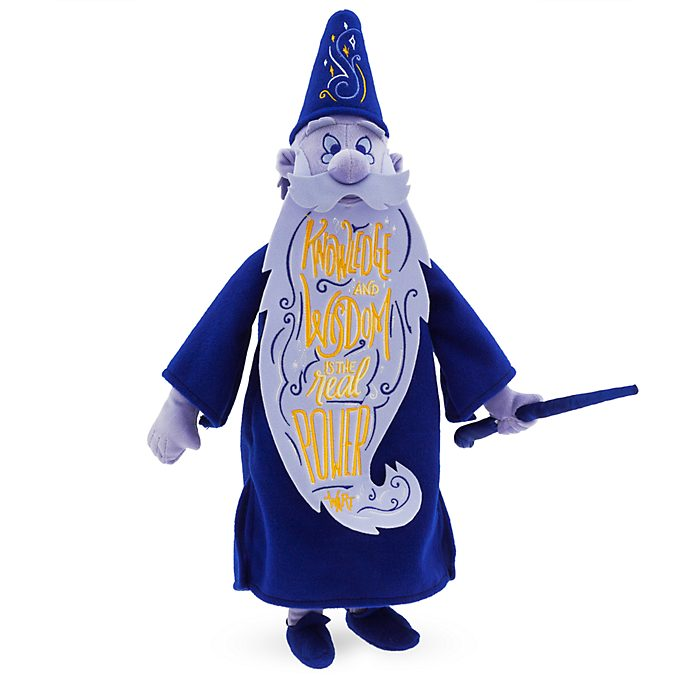 Disney Store Peluche Merlin, collection Disney Wisdom, 9 sur 12