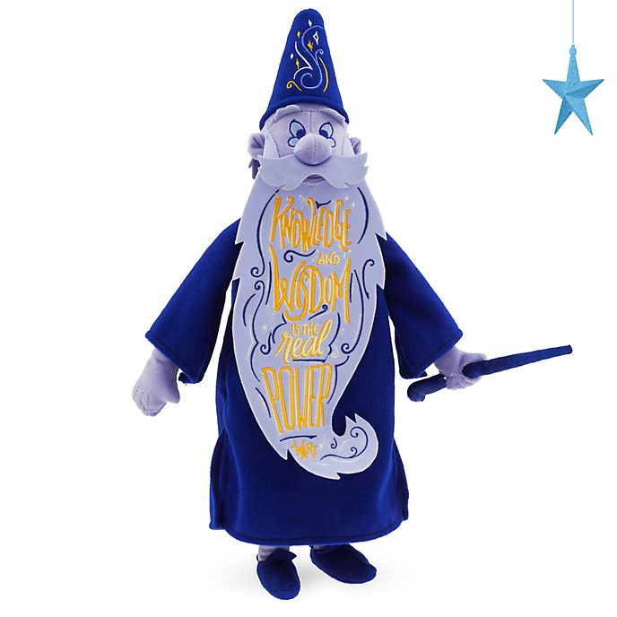 Disney Store Merlin Disney Wisdom Soft Toy, 9 of 12