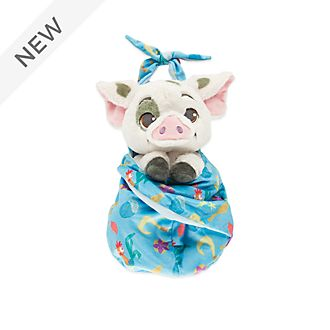 Disney Store Pua Small Soft Toy in Pouch, Moana