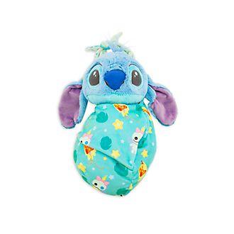 Disney Store - Stitch - Kuscheltier in Wickeldecke