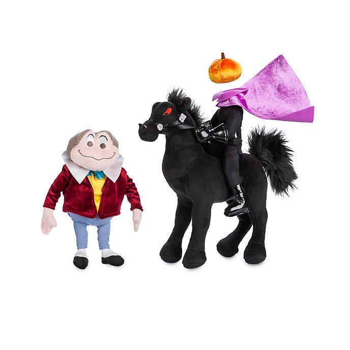 Disney Store - Taddäus Kröte und der kopflose Reiter - Kuschelpuppenset
