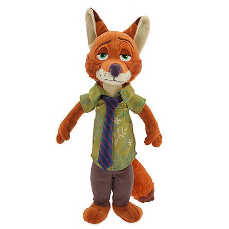 Zootropolis Nick Wilde Soft Toy