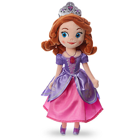 Petite peluche Princesse Sofia