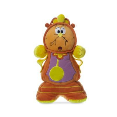 Cogsworth Small Soft Toy, Beauty And The Beast
