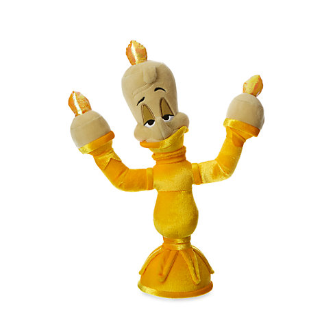 Lumiere Small Soft Toy Beauty And The Beast