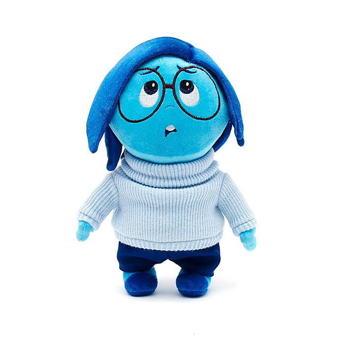 Sadness Small Soft Toy, Inside Out