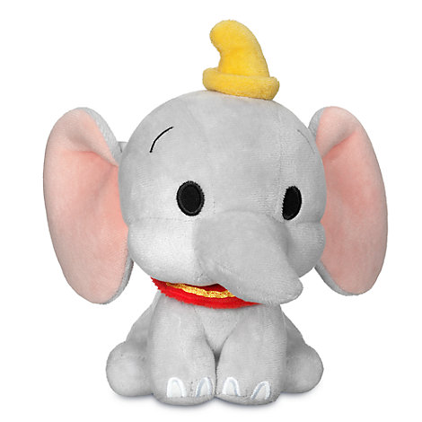 Lille Dumbo plysdyr med vippehoved