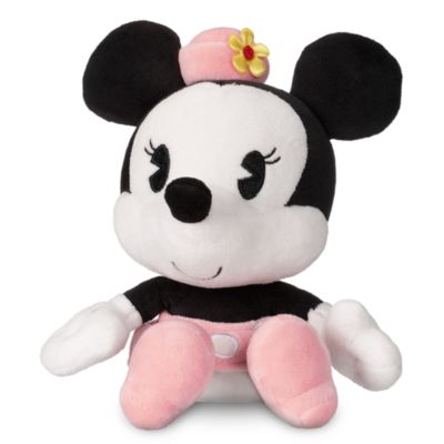 Lille Minnie Mouse plysdyr med vippehoved
