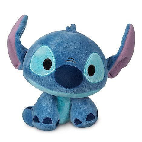 Peluche piccolo Stitch con testa a molla