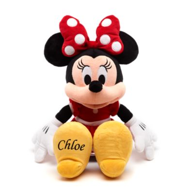Minnie Mouse Small Red Soft Toy