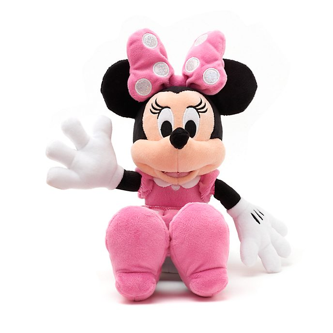 Disney Store Minnie Mouse Small Pink Soft Toy