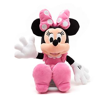 Minnie Mouse Small Pink Soft Toy