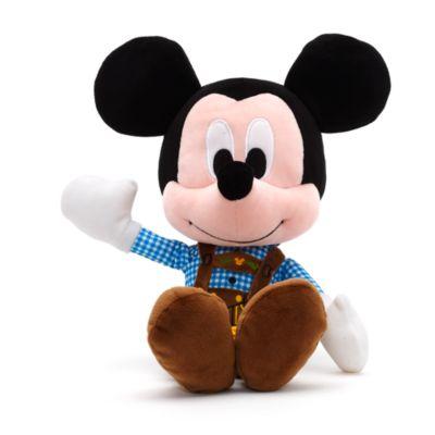 Micky Maus - Kleine Kuschelpuppe im Bayerndesign