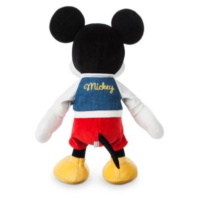 Disney Store - Micky Maus - Kuschelpuppe im College-Stil