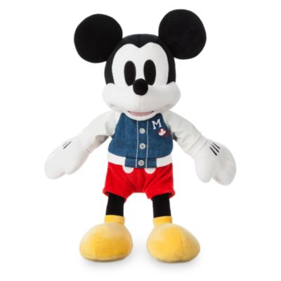Disney Store Mickey Mouse Varsity Small Soft Toy