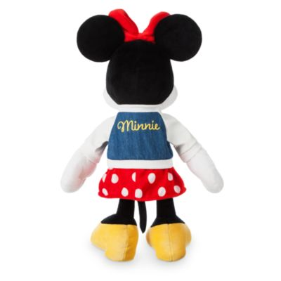 Peluche pequeño Minnie universitaria, Disney Store