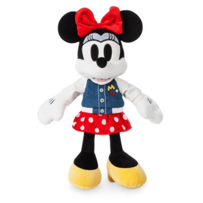 Disney Store Minnie Mouse Varsity Small Soft Toy
