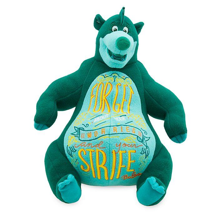 Disney Store Peluche Baloo, collection Disney Wisdom, 3 sur 12