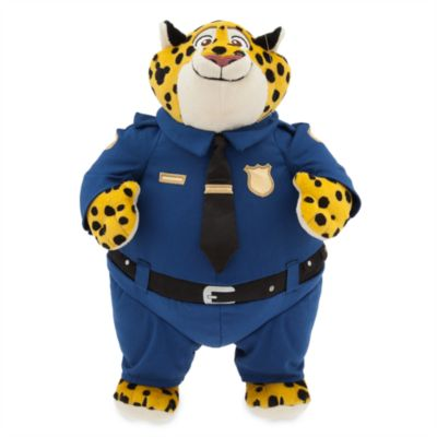 Peluche Officier Clawhauser de Zootopie