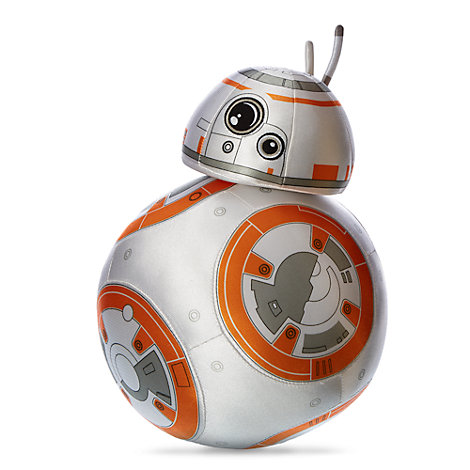 Mellemstort BB-8 plysdyr, Star Wars