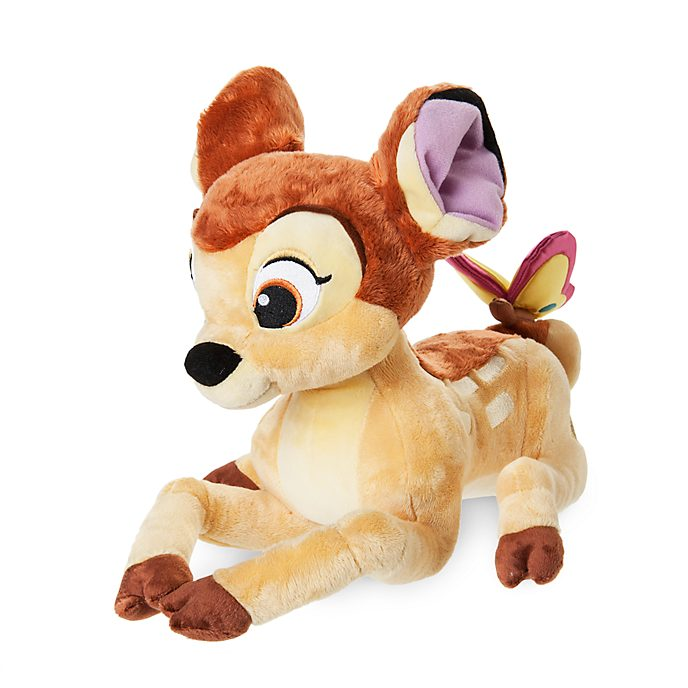 Bambi with Butterfly Medium Soft Toy
