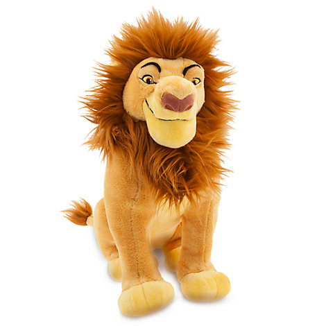 Mufasa Medium Soft Toy, The Lion King