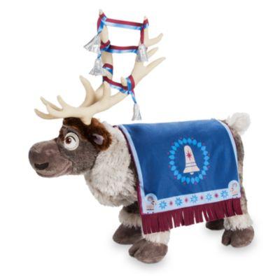 Peluche moyenne Sven, Joyeuses Fêtes avec Olaf