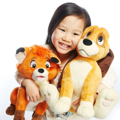 Copper Medium Soft Toy, The Fox and the Hound