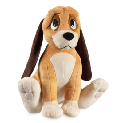 Copper medium soft toy the fox and the hound - Peluche rouky ...