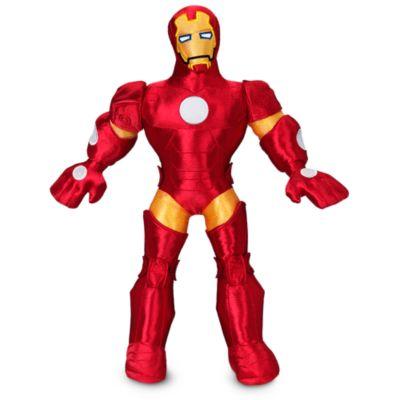 Mellemstort Iron Man plysdyr