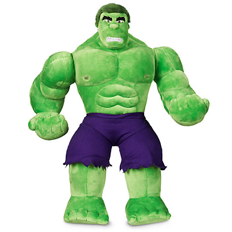 Hulk medelstor gosedocka