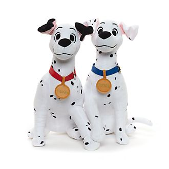 Pongo and Perdita Medium Soft Toys, Set of 2