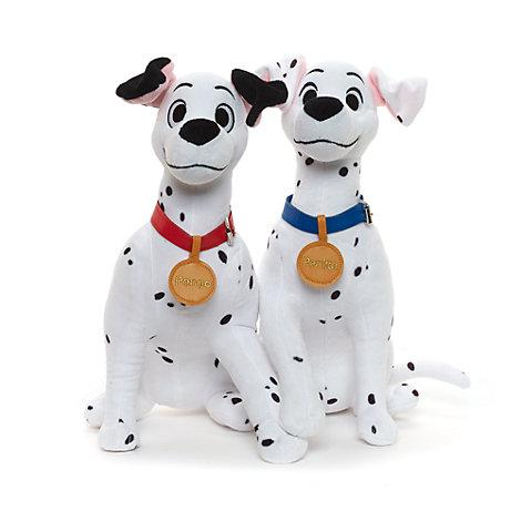 Pongo and Perdita Medium Soft Toys, Set of 2