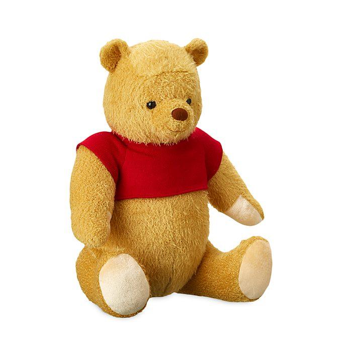 Disney Store Winnie The Pooh Medium Soft Toy, Christopher Robin