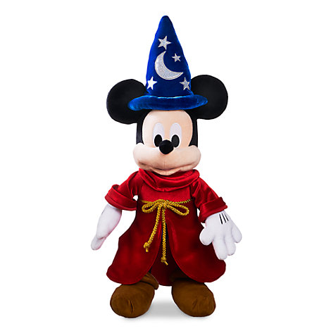 Peluche mediano Mickey Mouse aprendiz de brujo Disney Store