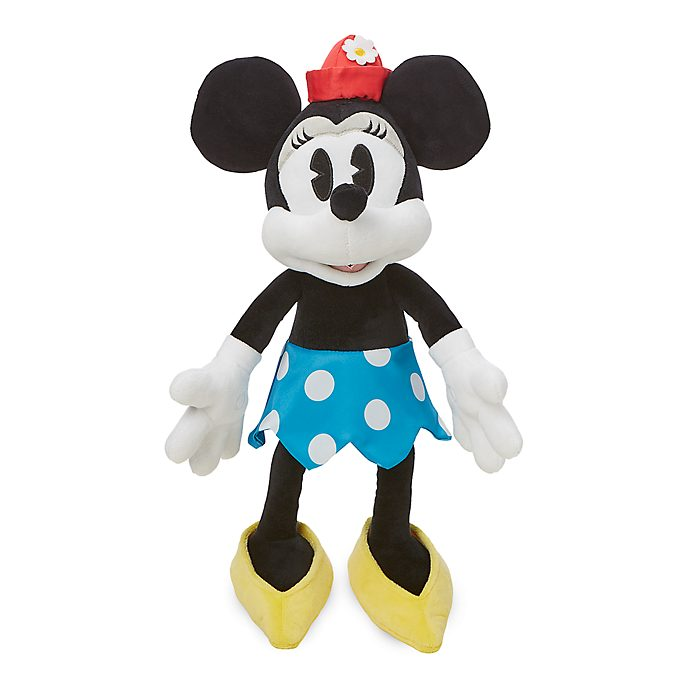 Disney Store Minnie Mouse Vintage Medium Soft Toy