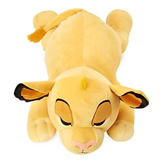Disney Store Simba Cuddleez Large Soft Toy