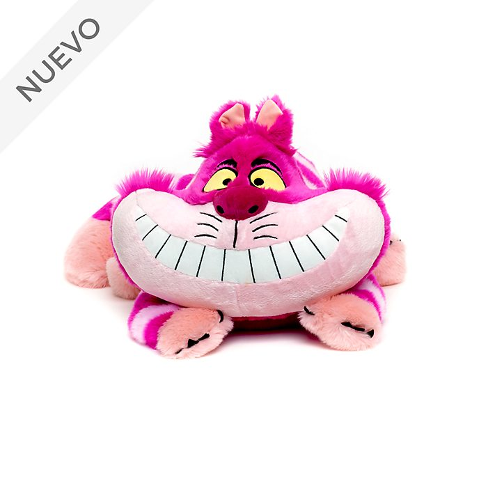 Peluche grande Gato Cheshire, Alicia en el País de las Maravillas