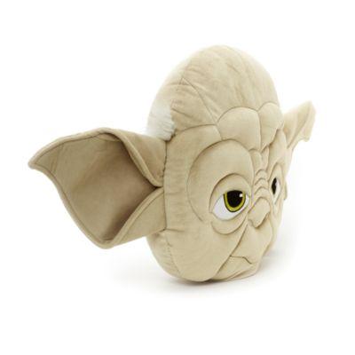 Cuscino grande con viso di Yoda