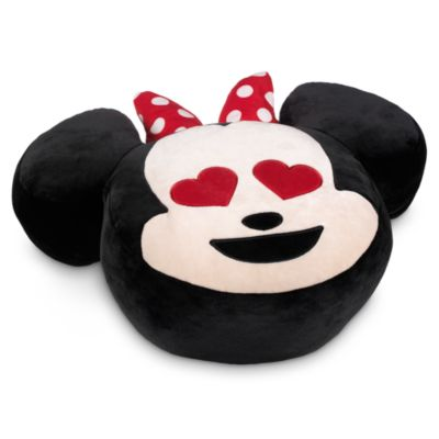 Coussin Minnie Mouse style emoji