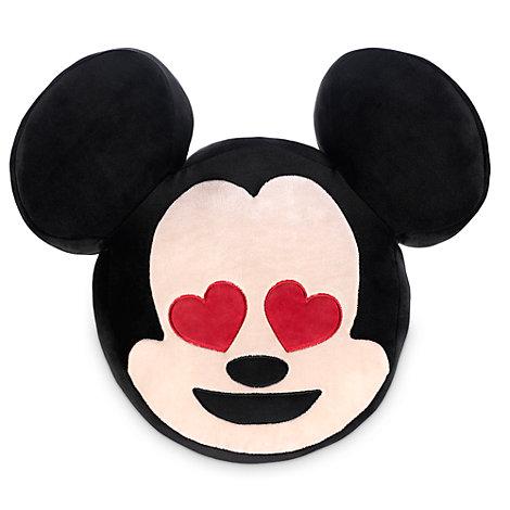 Cojín de Mickey Mouse en versión emoji